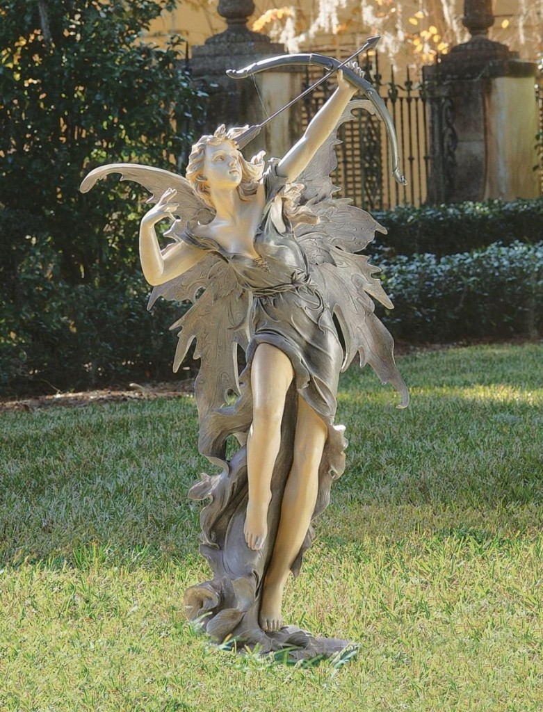 Gorgeous fairy figurines and fairy decor for a magical home - Large garden fairy statues ...