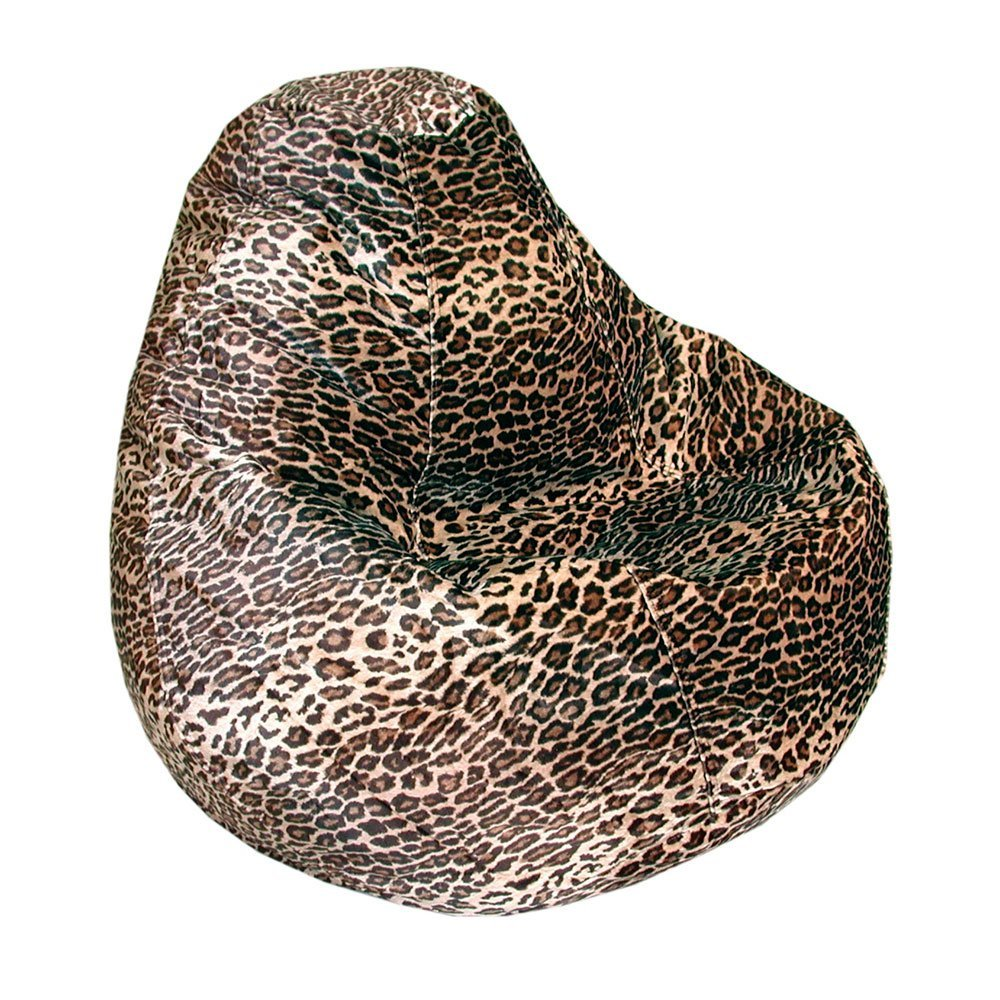 leopard bean bag chairs