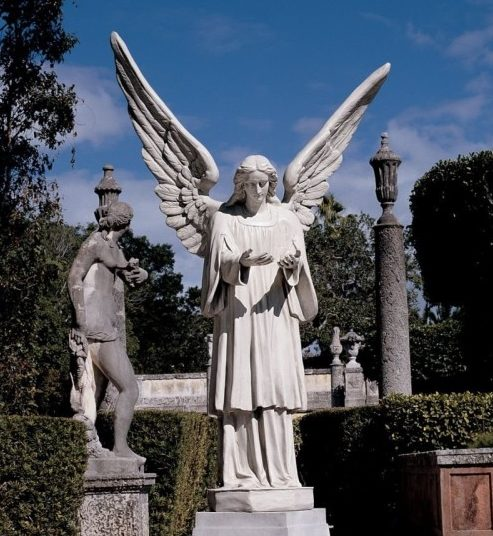 tall angel sculptures