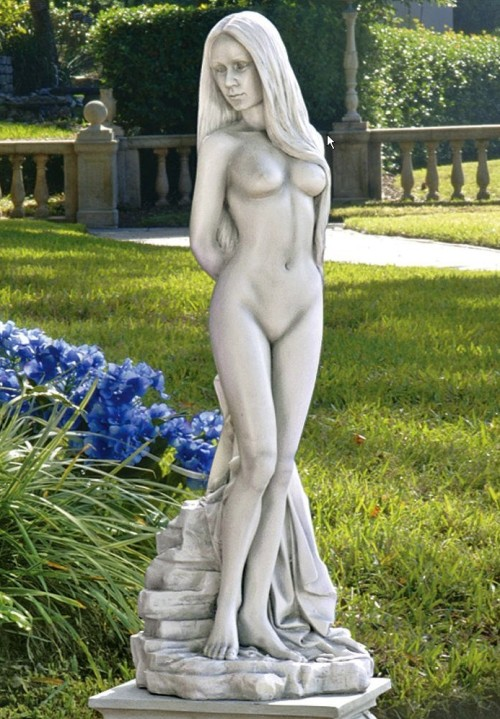 Female Nude Beauty Garden Statue