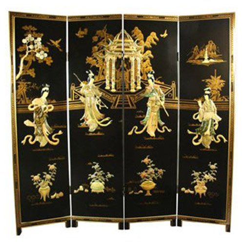 beautiful Chinese folding screens