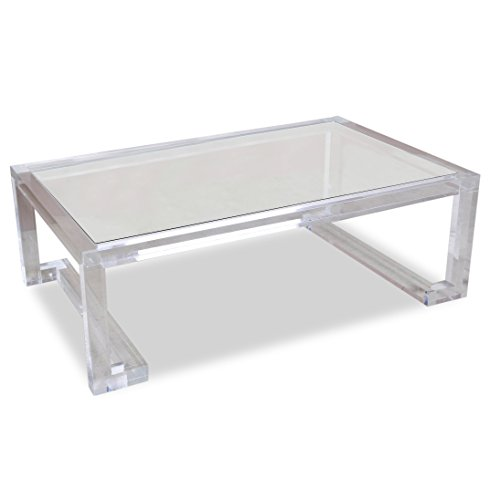 Transparent Acrylic Coffee Table