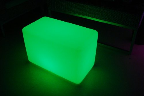 Color Changing LED Light Bench