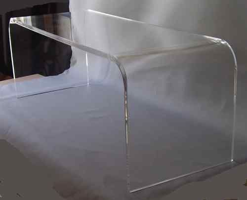 Clear Acrylic Coffee Cocktail Table