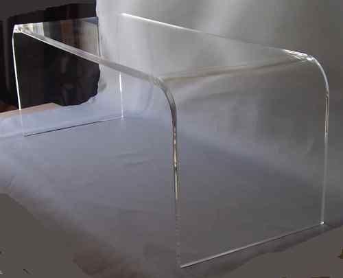 Clear Acrylic Coffee Cocktail Table