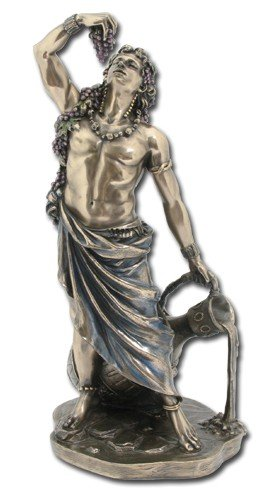 Dionysus Greek Roman God of Wine Figurine