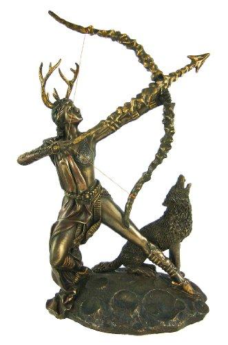 Moon Goddess Artemis Statue