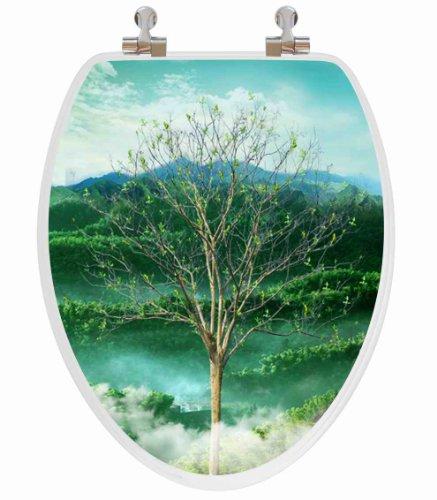 Nature Scene 3D Toilet Seat