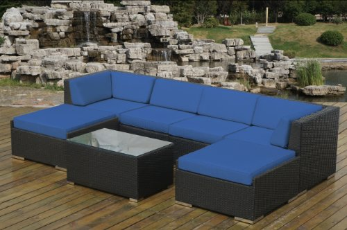 7-Piece All Weather Gorgeous Couch Set with Free Patio Cover