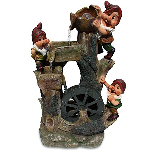 Gnomes Water Fountain