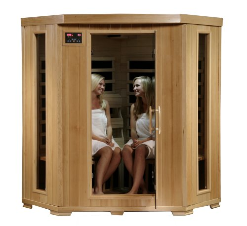 4 Person Corner Sauna for Home