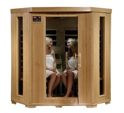 4 Person Corner Sauna for Home