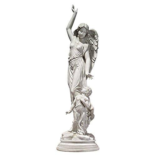 large angel garden statue