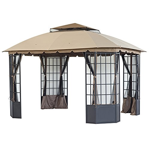 Unique Outdoor Gazebo with Bug Netting