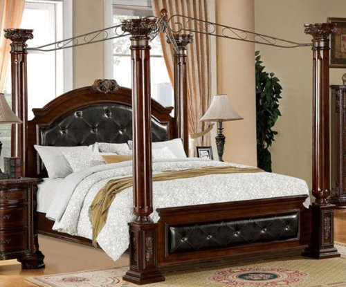top 10 luxurious king size canopy beds. Black Bedroom Furniture Sets. Home Design Ideas