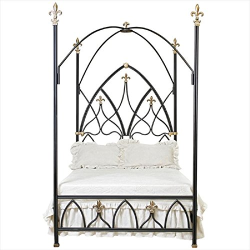 King Size Gothic Night Canopy Bed