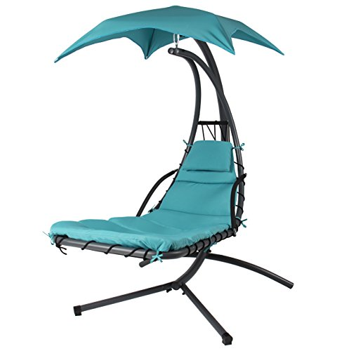 Modern Hanging Chair with Canopy for the Porch