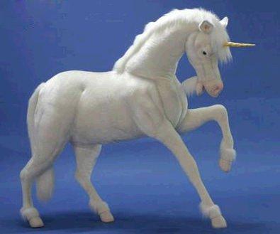 Life Size Hansa Unicorn Stuffed Animal