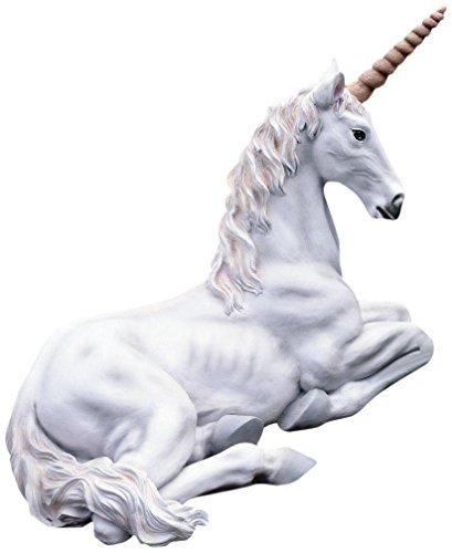 large unicorn statues