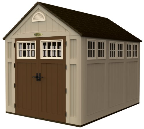 Cute House Shaped Storage Shed