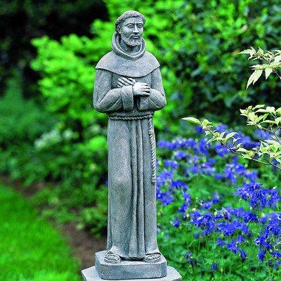 Beautiful St. Francis Stone Statue