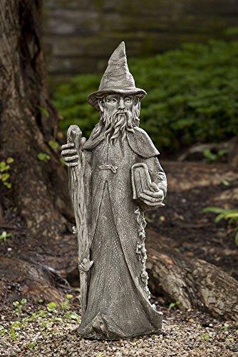 Merlin Stone Statue