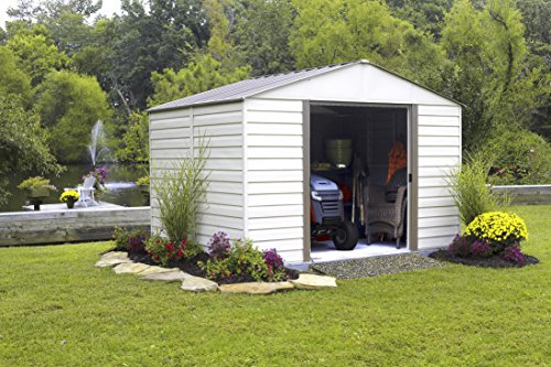 Vinyl Milford Storage Shed, 10 by 10-Feet