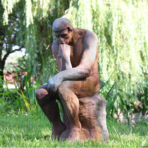 Thinker by Rodin Outdoor Statue