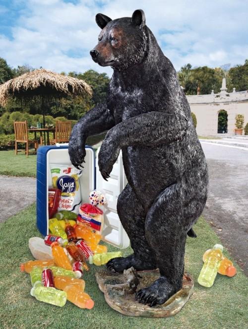 Standing Bear Garden Sculpture