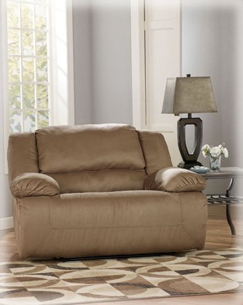 Mocha Zero Wall Recliner with Wide Seat Box
