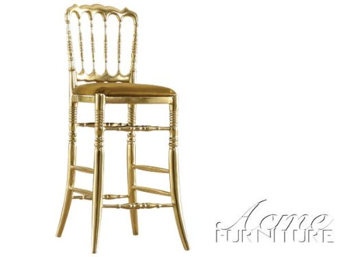 Gorgeous GOLD Bar Chair