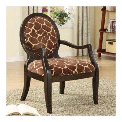 Giraffe Print Chair