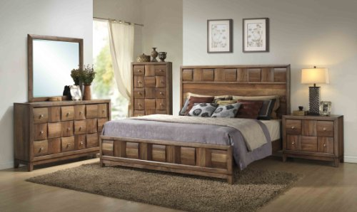 Solid Wood King Bedroom Furniture Sets for Sale