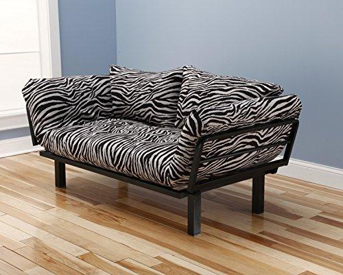 Zebra Print Futon Lounger