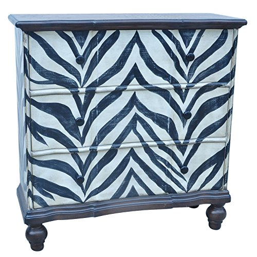 4 Drawer Zebra Chest