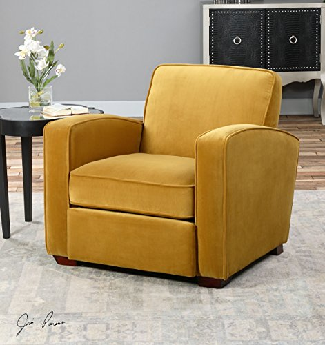 Comfy Gold Armchair