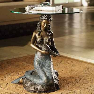 Beautiful Mermaid End Table