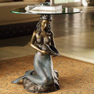 Beautiful Mermaid End Table