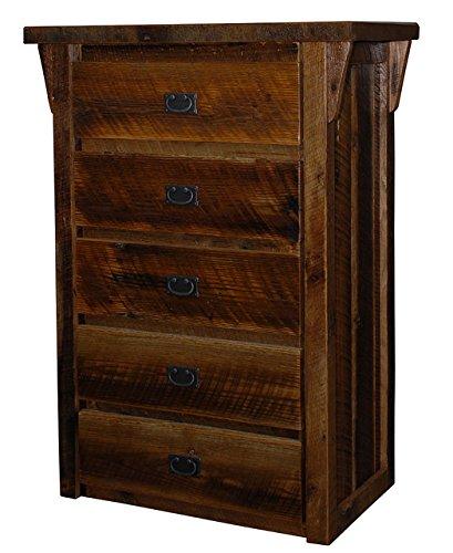 Reclaimed Barn Wood Rustic Chest Dresser