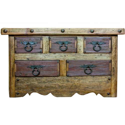 Charming Reclaimed Wood Dresser