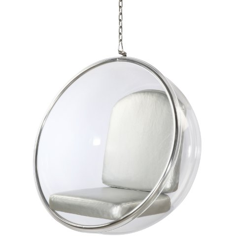 Awesome bubble chairs and ball shaped chairs for Bubble hanging chair ikea