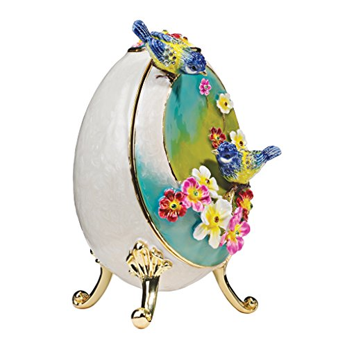 Cute Floral Birds Egg Boxes