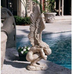 Memorial Angel Sculpture