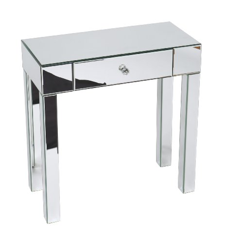 Cool Mirrored Finished Foyer Table