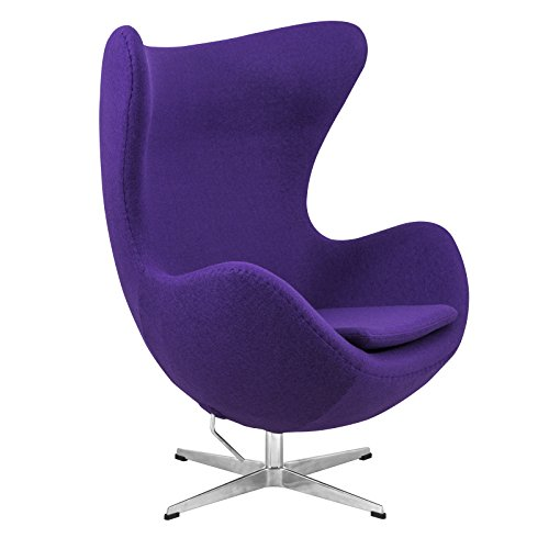 Purple Retro Chair