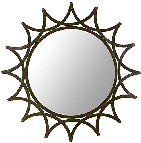 Artistic Solar Rays Design Decorative Wall Mirror