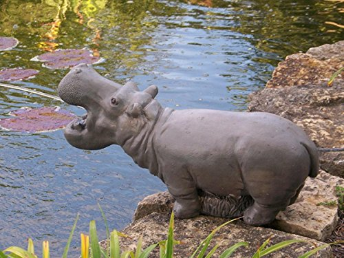 Stone Hippo Statue