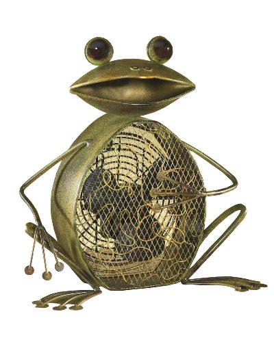 Cute Frog Shaped Table Fan
