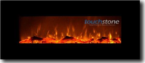 Wall Mounted Flat Panel Fireplace Heater
