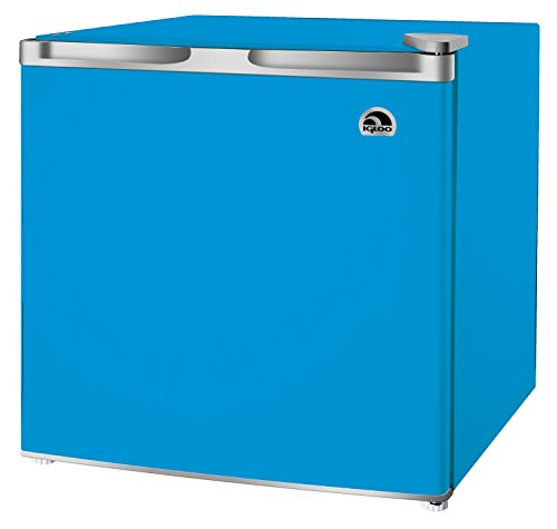 1.6 Cubic Foot Mini Fridge, Blue